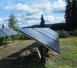 Beaver Lake Lodge off grid solar installation by IPS Integrated Power Systems of Kelowna BC