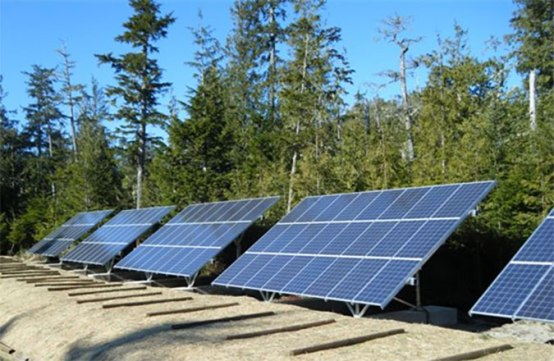 Hakai Beach Institute solar energy system designed and installed by IPS Integrated Power Systems Kelowna BC