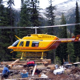 Remote lodge accessed by helicopter for off grid solar installation