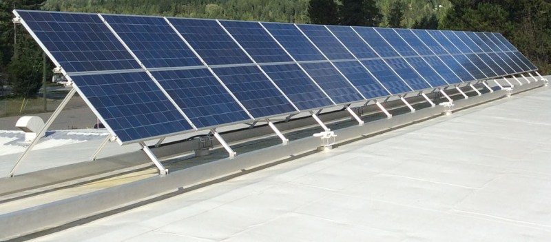 Commercial Grid Tie Solar Systems