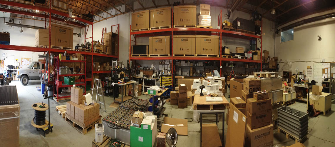 IPS Integrated Power Systems Warehouse