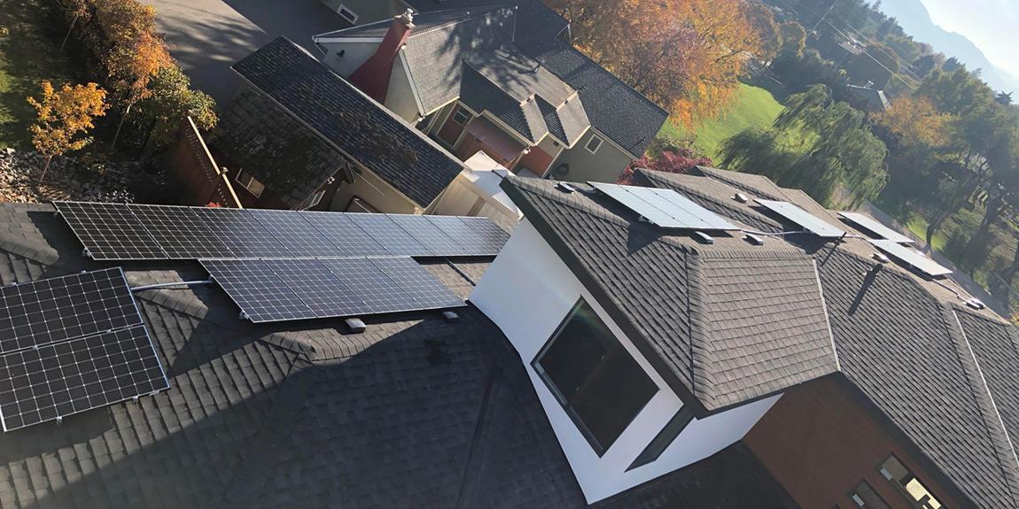 Kelowna Solar Grid-Tie Installation