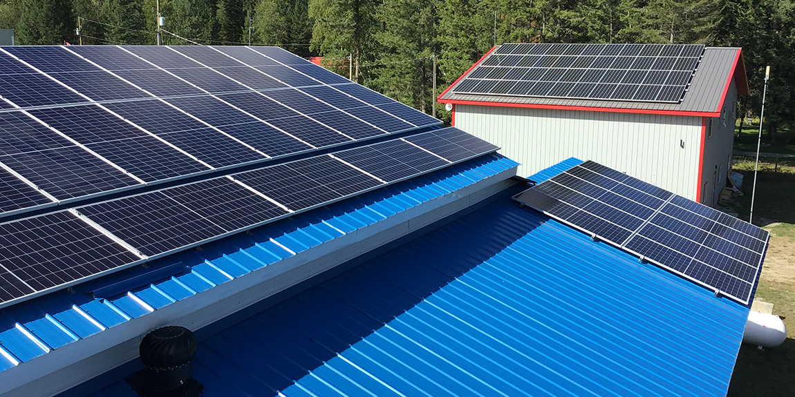commercial grid tie solar IPS Integrated Power Systems