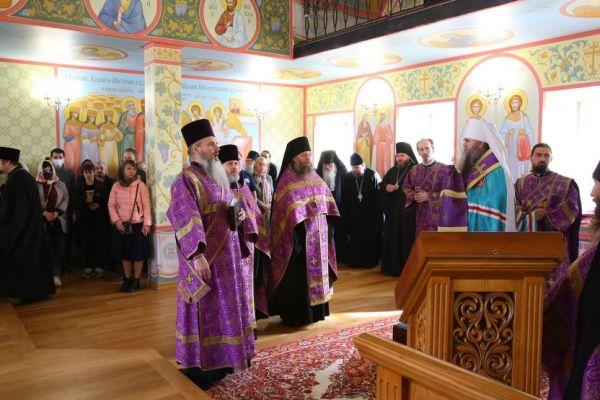 Андреевский храм в Благовещенском монастыре Нижнего ...