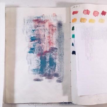Art Journal【Optical Illusion 2017】PAGE 012