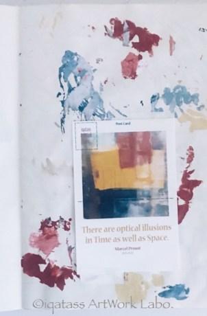 Art Journal【Optical Illusion 2017】PAGE 021