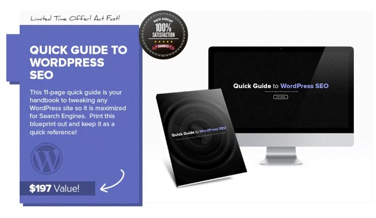 Quick Guide To WordPress SEO