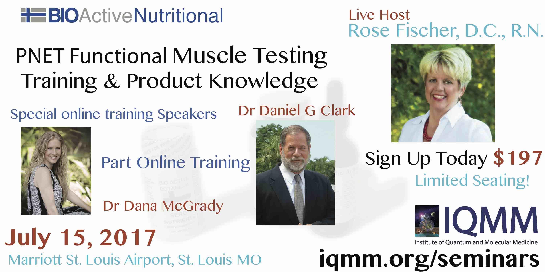 Muscle Testing Flier 07-15-2017 Rose Fischer