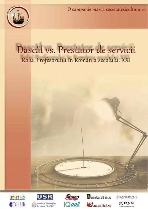 afis Dascăl vs. Prestator de servicii