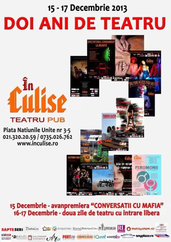 Doi ani de teatru In Culise