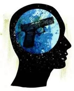 Gun-in-brain