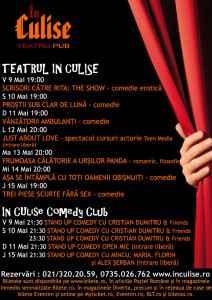Program In Culise 9-15 Mai