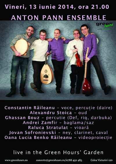Anton Pann Ensemble afis