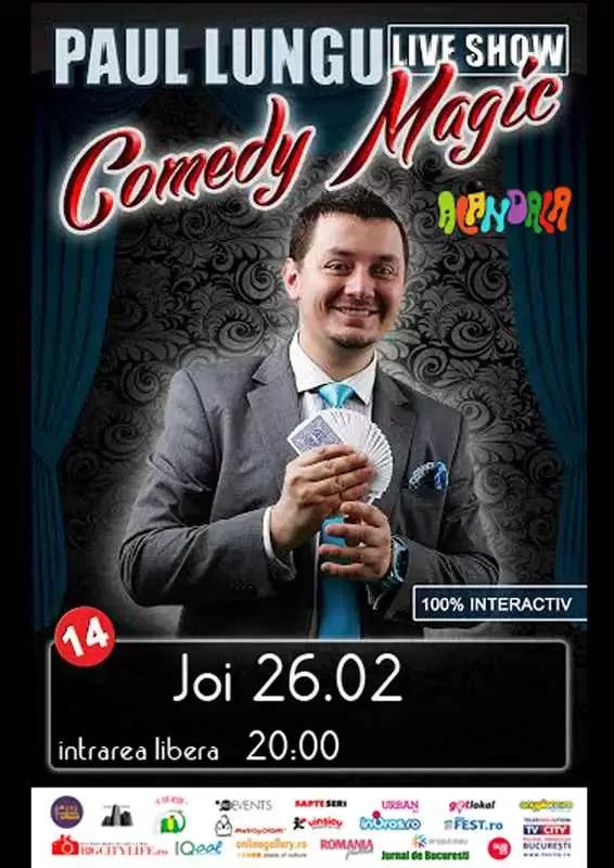 26.02 - Comedy Magic - live show