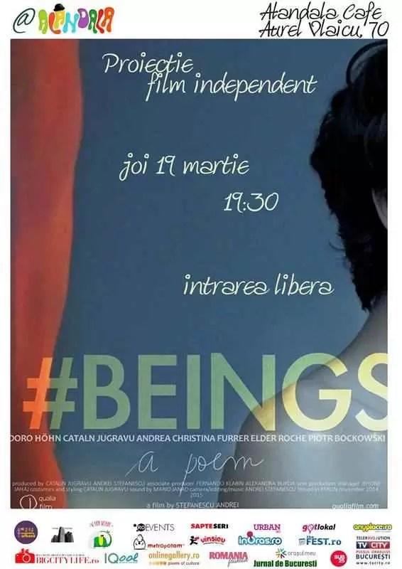 19.03 - BEINGS - Proiectie film si Q&A cu regizorul