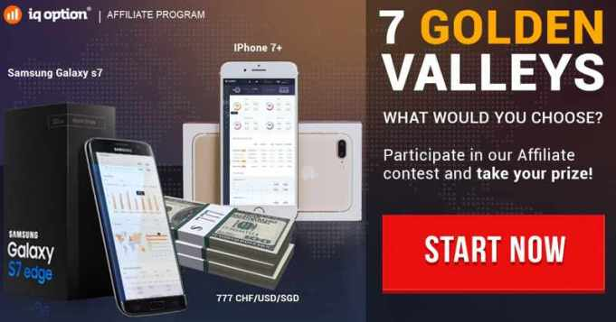 7 golden valleys iqoption competition - win iphone or galaxy phone