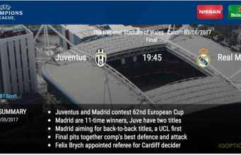 2017 Ligue des champions finale - Real Madrid vs Juventus