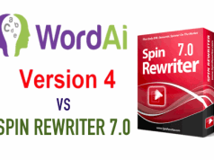 wordai 4.0 vs spin rewriter 7.0 text spinning comparison
