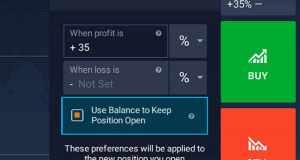 New platform feature- Position Top-up