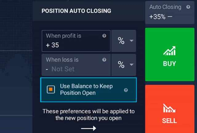 Neue Plattform Feature- Position Top-up