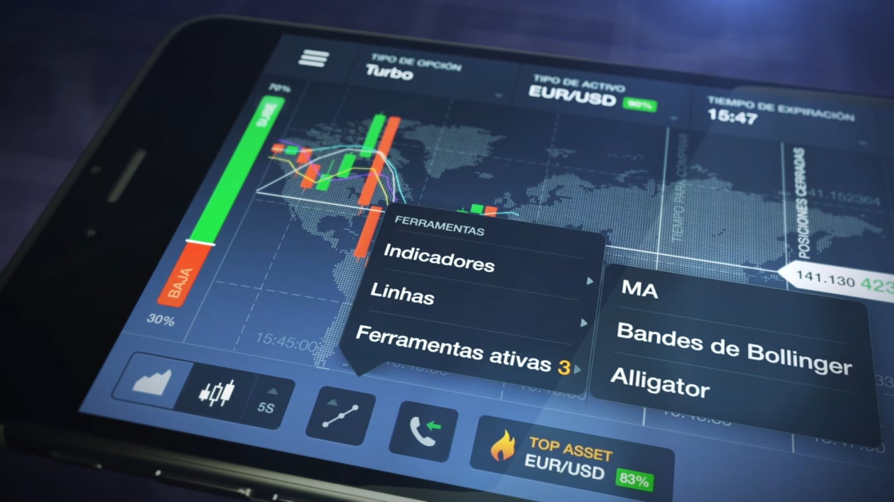 Mobile Trading App  IQ Option (Spanish, 30 sec) - IQ OPTION - broker