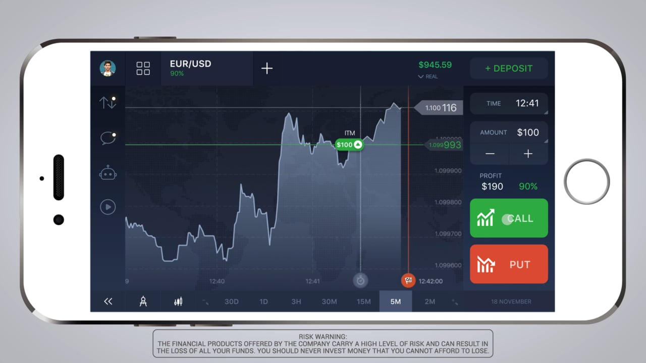 Options trading app practice