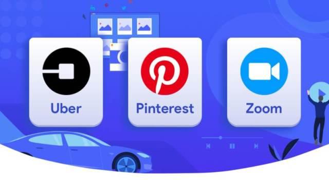 Lyft, Pinterest and Zoom CDFs