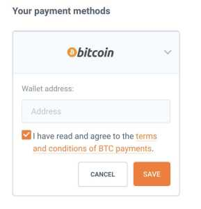 Bitcoin-choose-your-payment-methods