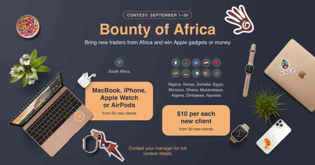 Africa and Apple gadgets