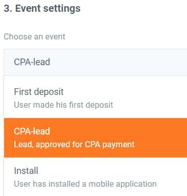 event settings iqoption