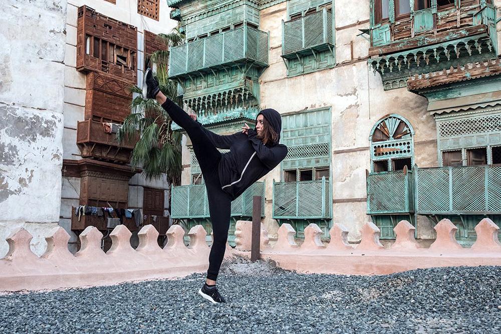 هالة الحمراني اول لاعبة فنون قتالية (كراتيه) سعودية