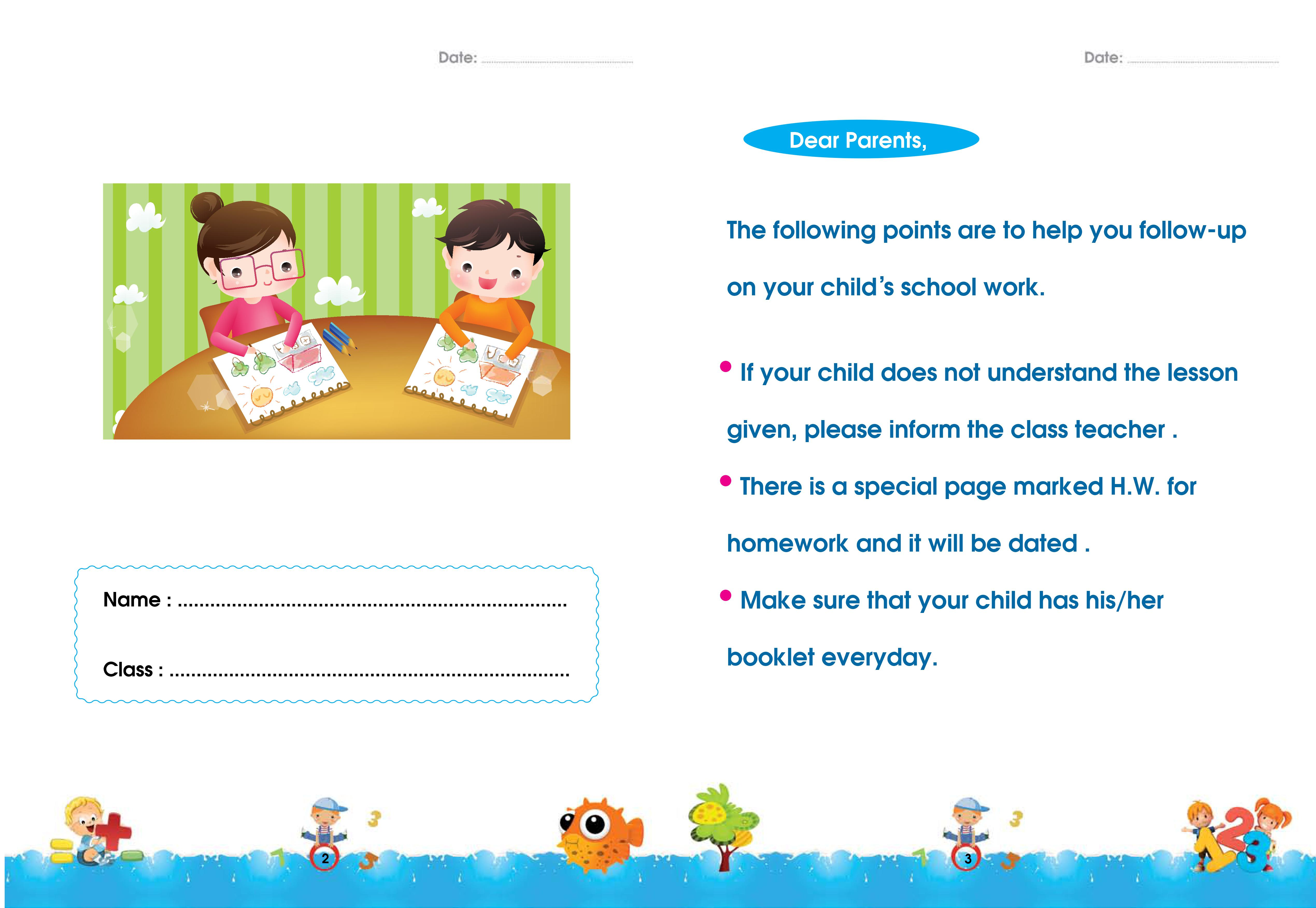 Worksheets Math Kg2