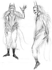 Un esemplare di Viya, la leggendaria popolazione ormai estinta a Unae.