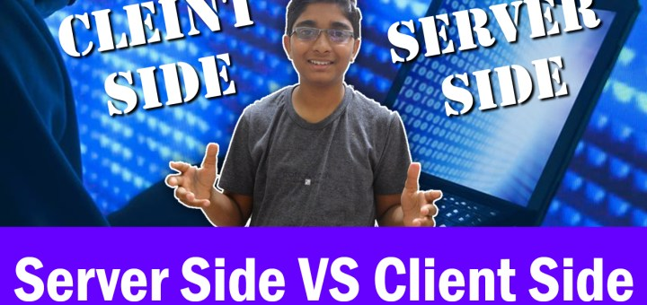 The difference between Client Side and Server Side