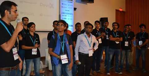 Kumar Abhirup at Wordcamp Nashik