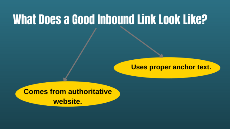 What Does a Good Inbound Link Look Like?