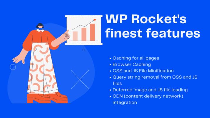 WP Rocket's finest features