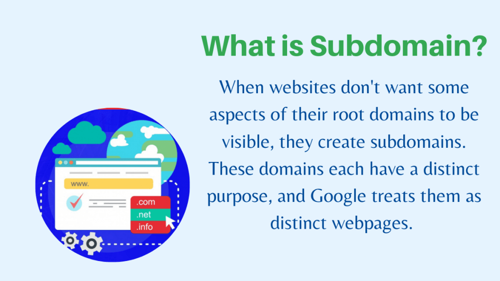 What is Subdomain