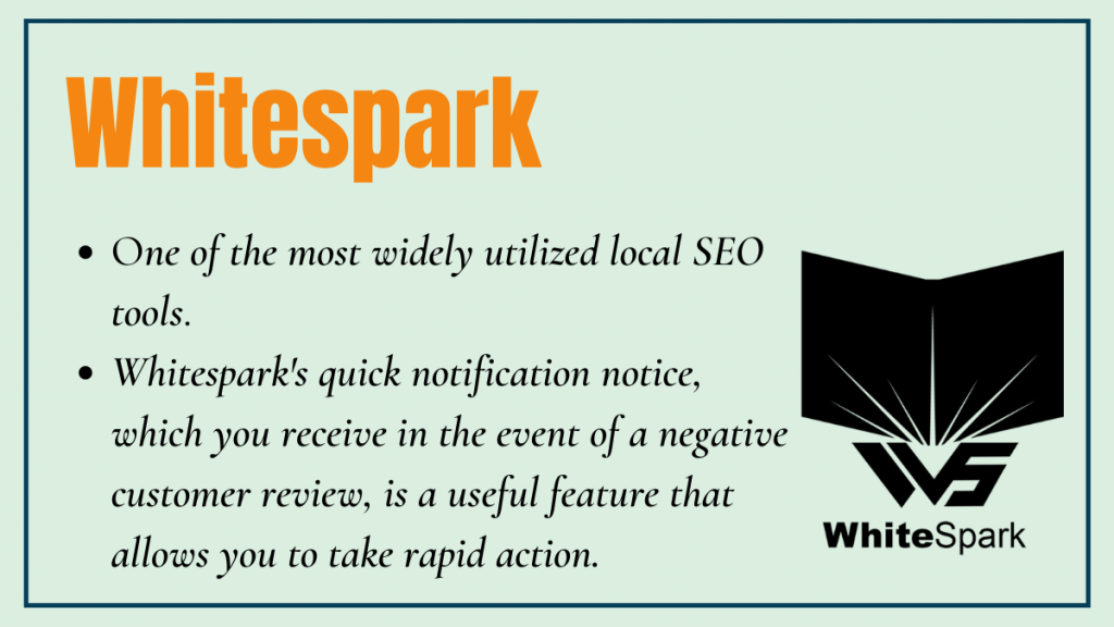 Whitespark - local seo tool