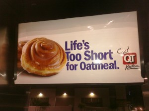 QT Ad for unhealthy life choices