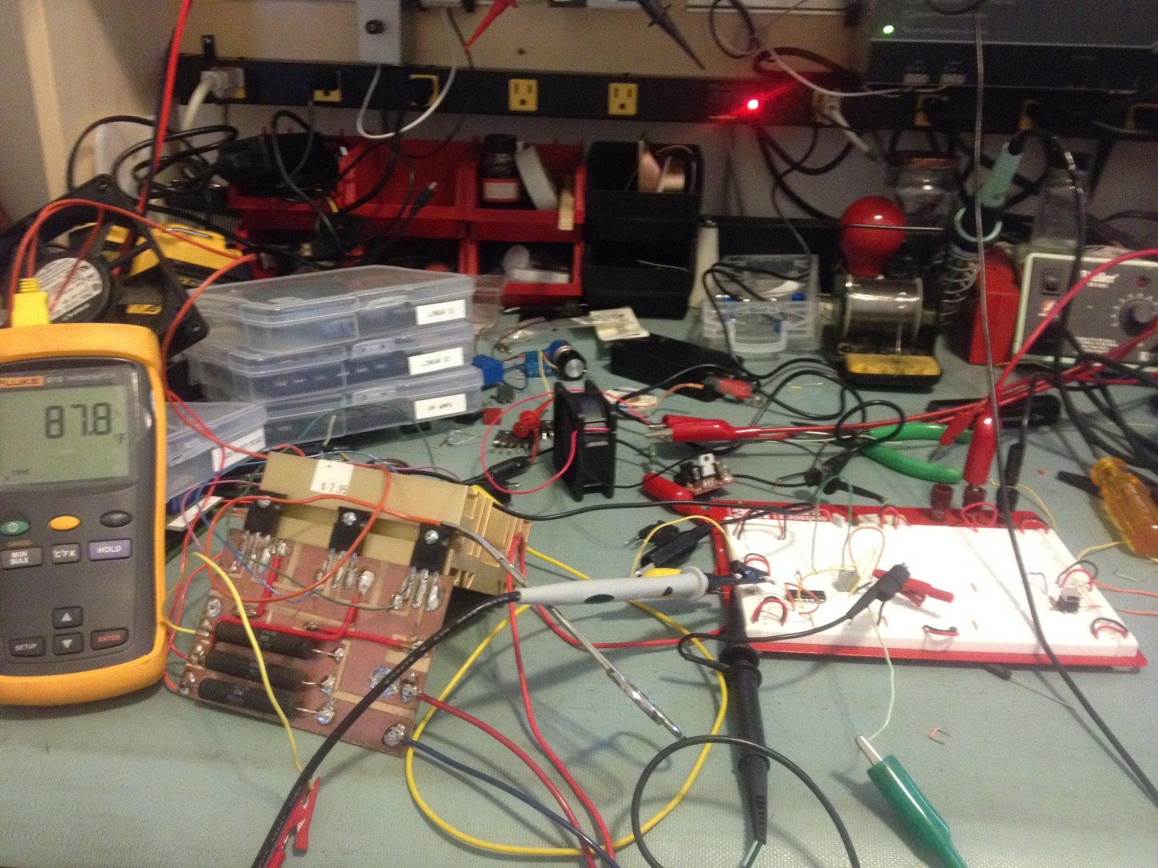 Operational Amplifiers Circuit Continuity Tester Using Opamps Eeweb Community The Meat And Potatoes Of Load Work Fine Note To Self