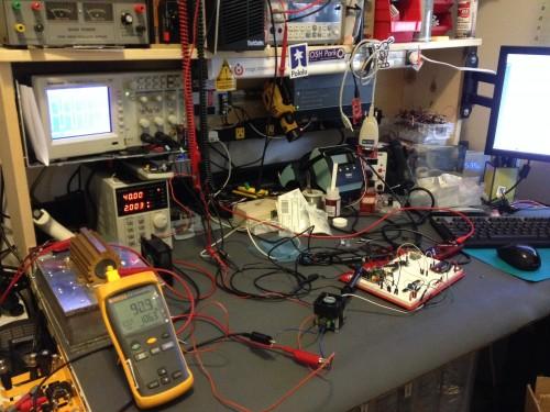 Fresh off the soldering iron!