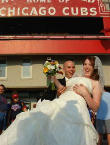 Wrigley wedding