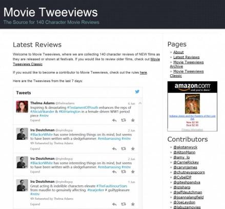 Movie Tweeviews