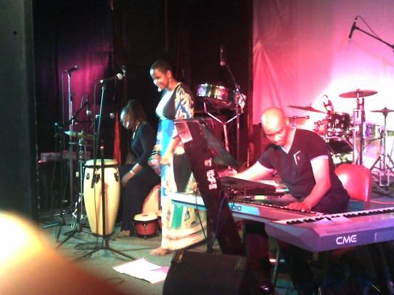 Ruth Osman with Wayne Guerra and Sheena Richardson