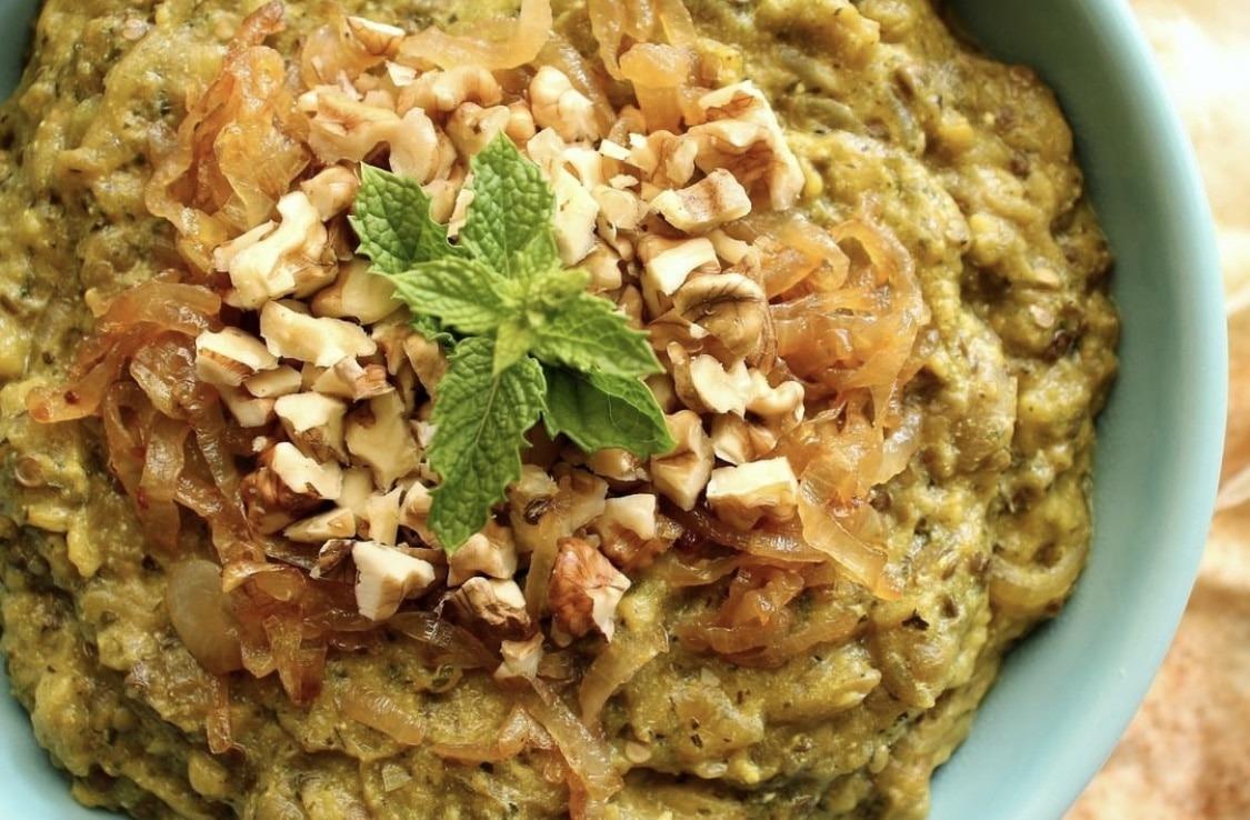 Kashke Bademjan: Iranian eggplant caviar