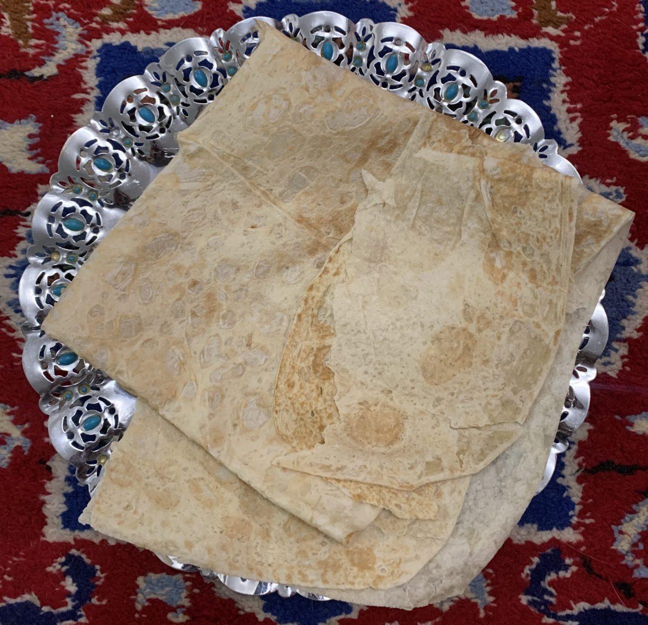 Lavash : Iranian bread