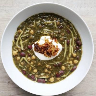 Ashe reshteh : soupe iranienne