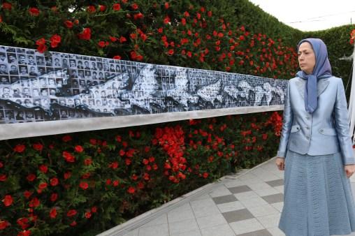 مريم رجوي ندوة الجاليات الايرانية ذكرى مجزرة 1988 في ايران 3