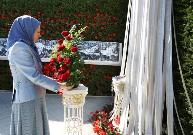 مريم رجوي ندوة الجاليات الايرانية ذكرى مجزرة 1988 في ايران